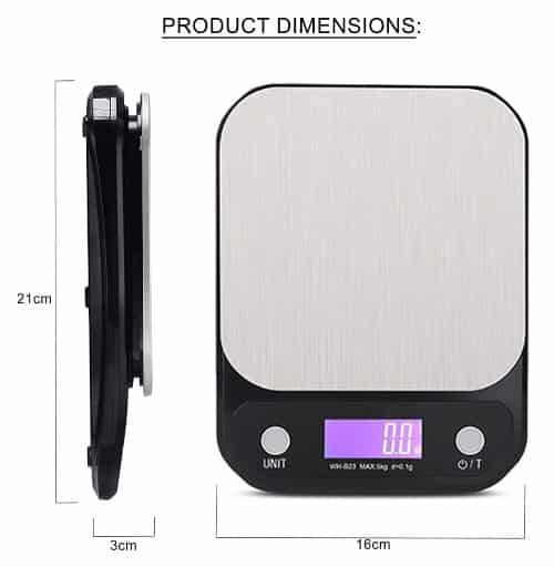 Best Commercial 10kg Electronic Kitchen Digital Weighing Scale in India 2021